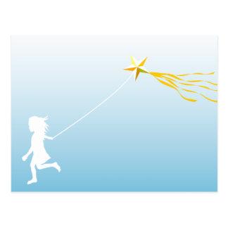 Kite runner postcard