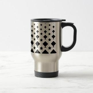 Kite & Star Shapes Design Motif Travel Mug