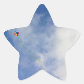 Kite Star Sticker