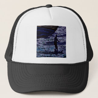 Kite surfer3 trucker hat