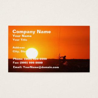 Kite Surfer 3 Business Card