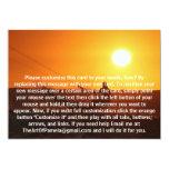 Kite Surfer 4 5x7 Paper Invitation Card