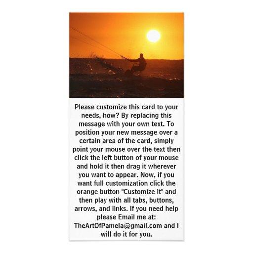 Kite Surfer 4 Photo Card