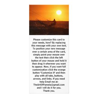Kite Surfer 4 Rack Card