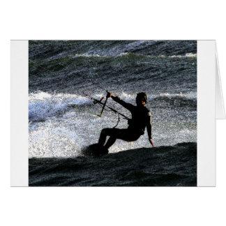Kite surfer card