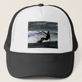 Kite surfer trucker hat