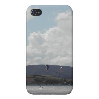 Kite Surfers Nice scenic view Case For iPhone 4
