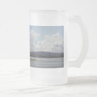 Kite Surfers. Nice scenic view. Coffee Mug