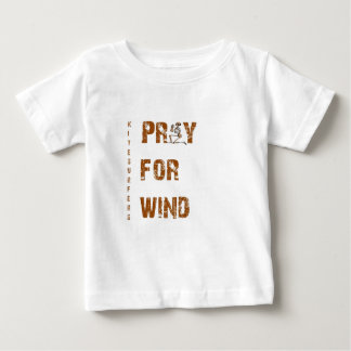 Kite Surfers Pray For Wind Baby T-Shirt