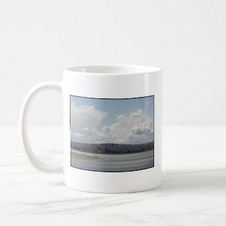 Kite Surfers. Scenic view. Coffee Mugs