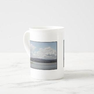 Kite Surfers. Scenic view. Porcelain Mug