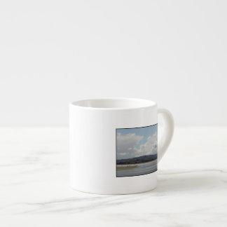 Kite Surfers. Scenic view. Espresso Mugs