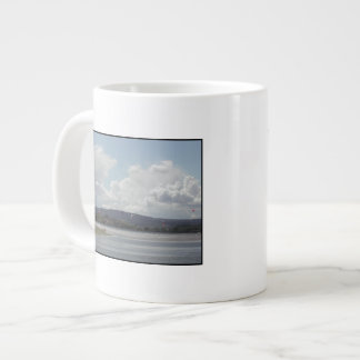 Kite Surfers. Scenic view. Extra Large Mugs