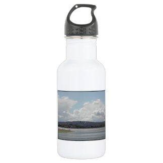 Kite Surfers. Scenic view. Stainless Steel Water Bottle