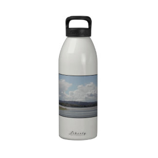 Kite Surfers Scenic view Reusable Water Bottle