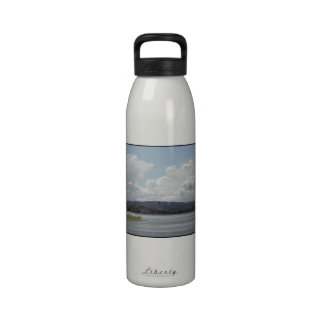 Kite Surfers Scenic view Water Bottle