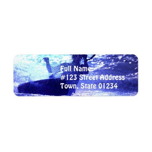 Kite Surfing Address Label