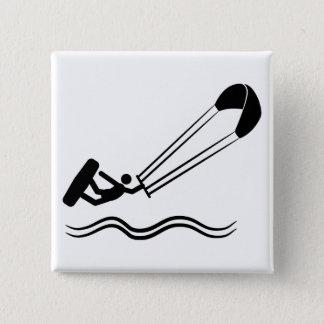 Kite Surfing Button