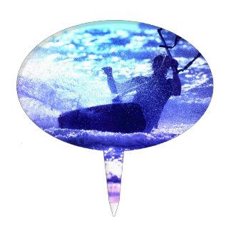 Kite Surfing Cake Topper