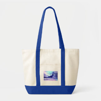 Kite Surfing Canvas Tote Bag