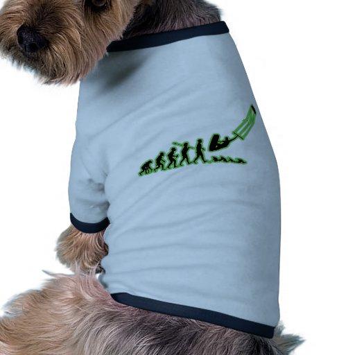 Kite Surfing Dog Tee Shirt