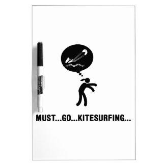 Kite Surfing Dry Erase Whiteboards