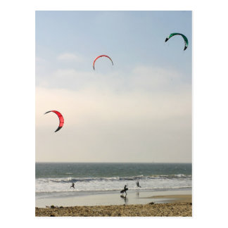 Kite Surfing Postcard