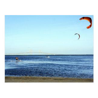 Kite Surfing Postcards