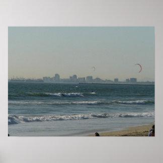 Kite Surfing Print