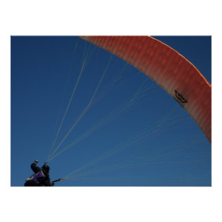 Kite Surfing Poster/Print