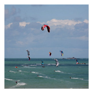 Kite Surfing Race Posters