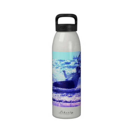 Kite Surfing Water Bottle