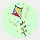 Kite Tshirts and Gifts Classic Round Sticker