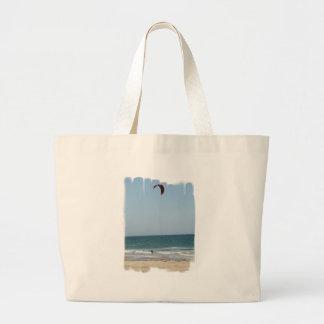Kiteboard Beach Canvas Bag