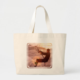 Kiteboard Canvas Tote Bag