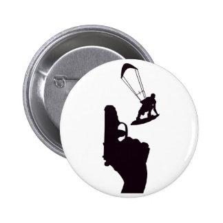 Kiteboard Gun Pins