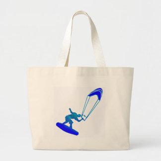 Kiteboard in Blue Tote Bags