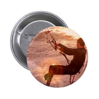 Kiteboard Round Button