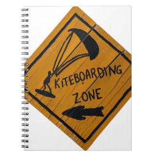 Kiteboard Sign Notebook