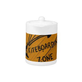 Kiteboard Sign Teapot