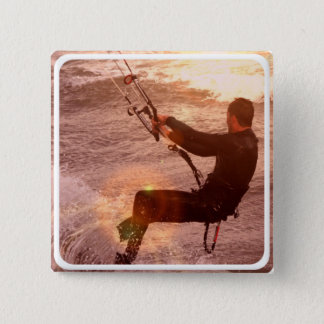 Kiteboard Square Pin