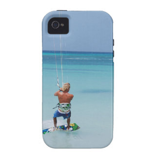 Kiteboarder in Tropics iPhone 4 Cover