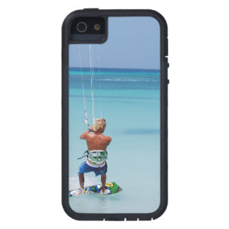 Kiteboarder in Tropics iPhone 5 Covers