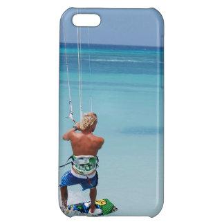 Kiteboarder in Tropics iPhone 5C Case