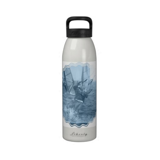 Kiteboarders Water Bottle