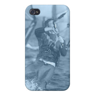 Kiteboarders with Windsurfers iPhone 4 Case