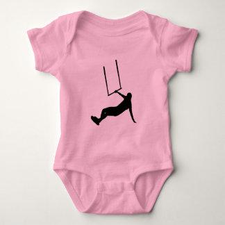 Kiteboarding Baby Bodysuit