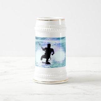 Kiteboarding Beer Mug