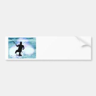 Kiteboarding Bumper Sticker