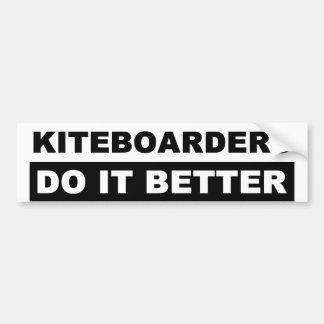 KITEBOARDING BUMPER STICKERS